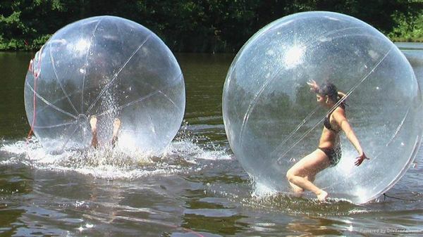 water sport toy,inflatable human water ball,balls for walking on water(China (Mainland))