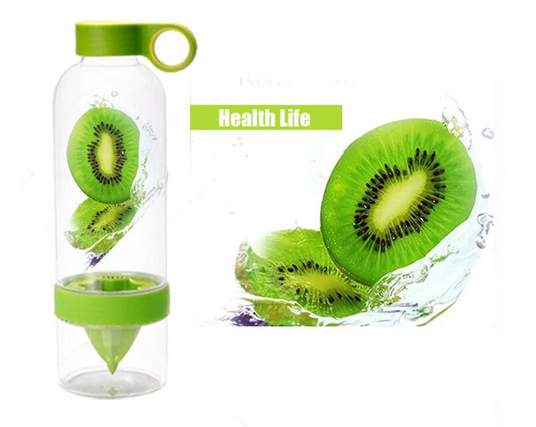 2015 Lemon Cup My Fruit Bottle Juice Readily Cup Drinking Water Bottle Cup Drinkware for outdoor
