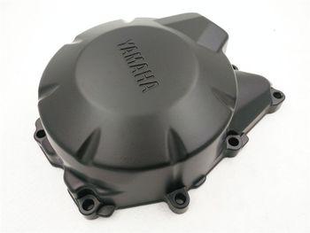 Подробная информация о Двигателя статора крышка для 2004-2010 Yamaha FZ6 Картера Слева Черный