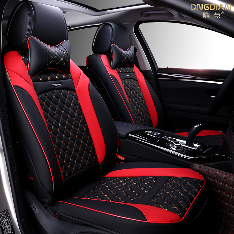 New 6d Sport Car Seat Cover General Cushion Senior Leather Car Covers Car Styling For Bmw Audi