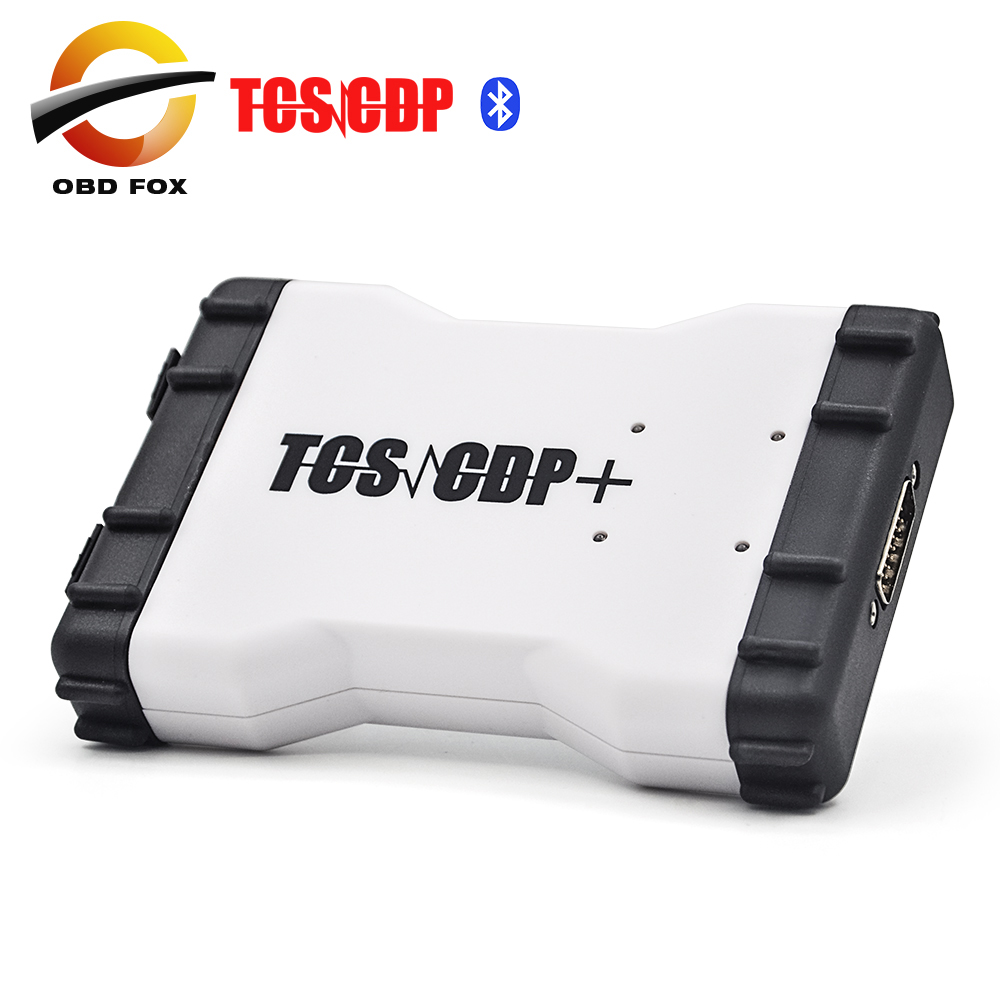 2016 Top selling tcs cdp pro plus led 2014.3 version car & truck bluetooth Multi-language + Carton box DHL free - OBD FOX TECH Co.,Ltd store
