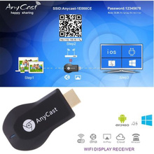 Free Shipping Media Player TV Stick Push Chrome cast Wifi Display Receiver Dongle Chrome Anycast Dl na Air play(China (Mainland))
