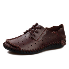 Men Leather Shoes Casual 2016 Spring/Summer Fashion Shoes For Men Designer Shoes Casual Breathable Mens Shoes Comfort Loafers(China (Mainland))