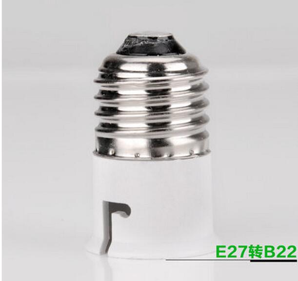 Per Lot e27 b22 Base Socket Adapter Converter Holder LED Light Lamp Bulbs lamp holder adapter - lights Expert store