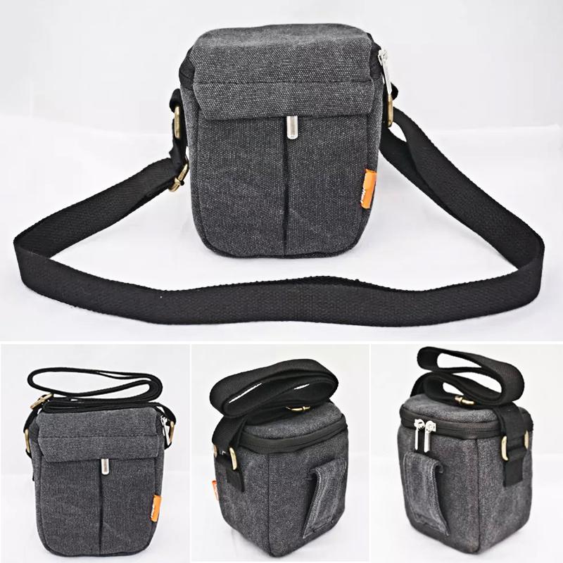 New Shockproof Camera Shoulder Strap Canvas Bag Case Cover Canon EOS M10 M2 M3 Sony RX100 RX100 M3 Nikon Panasonic