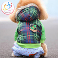 New Arrival five color XS XXL winter warm Dog Down Puppy Clothes Vestidos cotton Padded Parkas
