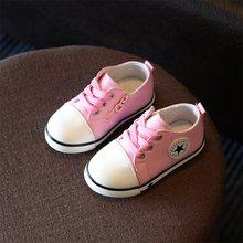 2019 ילדים חדשים נעלי בנות בני נעלי ספורט נוגד החלקה רך תחתון ילדים תינוק Sneaker מקרית שטוח סניקרס לבן נעליים(China)