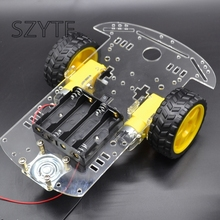 Buy Motor Smart Robot Car Chassis /Tracing car box Kit Speed Encoder Send Battery Box for $10.50 in AliExpress store