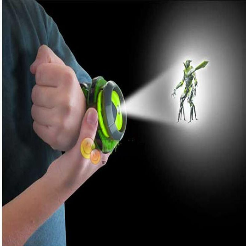 2016 New ben 10 omnitrix watch Style Kids Projector Watch Japan Genuine Ben 10 Watch Toy Ben10 Projector Medium Support Drop(China (Mainland))