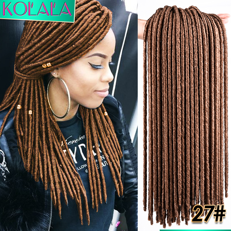 18 Faux goddess locs Crochet Braids Dreads ombre Faux Locks Crochet ...