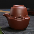 380ml Purple clay teapot sets YIXING zisha teapot drinkware kungfu tea sets drink cup water cups