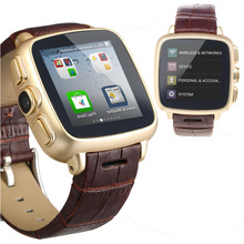 Wi-fi умный телефон вахты Android с Bluetooth камера двухъядерный 3 г носить Smartwatch кожаный ремешок смартфон часы S23