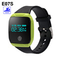 Hot E07S Bluetooth Smart Bracelet Waterproof Pedometer Sleep Monitor Fitness Tracker Wristband for iPhone 5s 6s