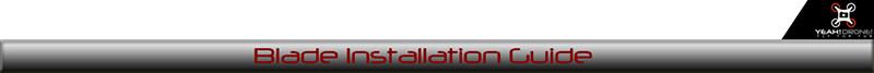 blade instalation guide