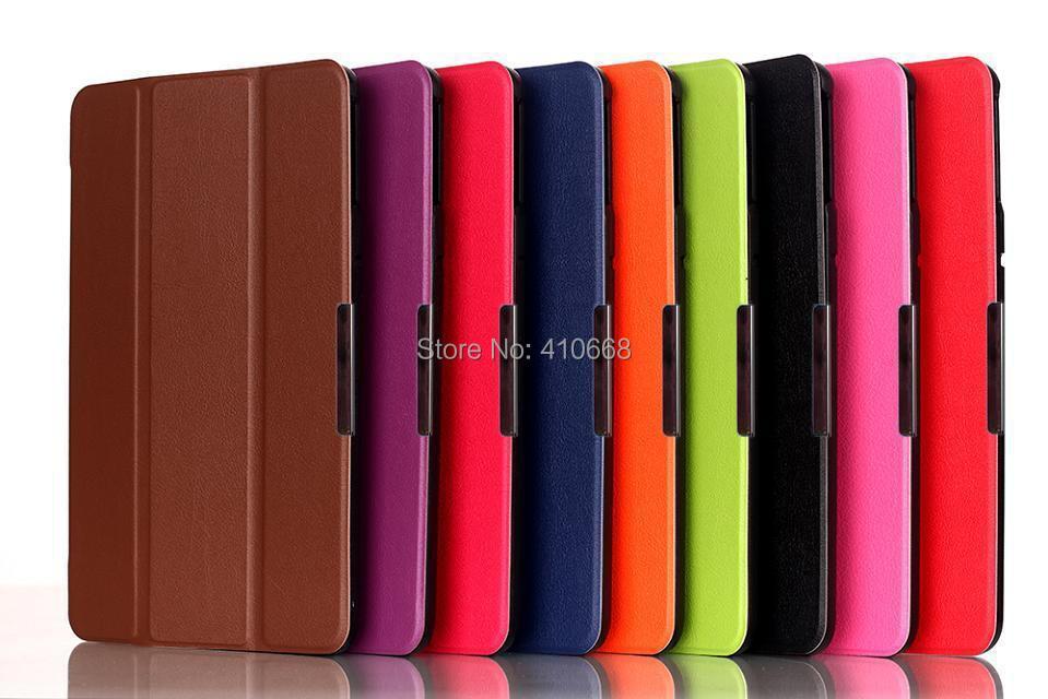 Toshiba Encore 2 WT8 Case Luxury 3 Fold Magnet Smart 8 inch Tablet Cover Auto Wake/Sleep - Shenzhen HL Electronic Technology Co.,ltd store