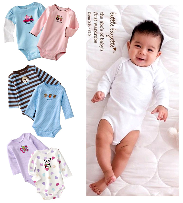 Sale carters baby boy winter clothes long sleeved winter baby romper