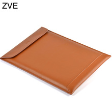 """ZVE Leather Laptop Cover Case For Macbook Pro/Air/Retina Notebook Sleeve bag 11""""12"""" 13""""15"""" Ultrabook Pouch bag(China (Mainland))"""