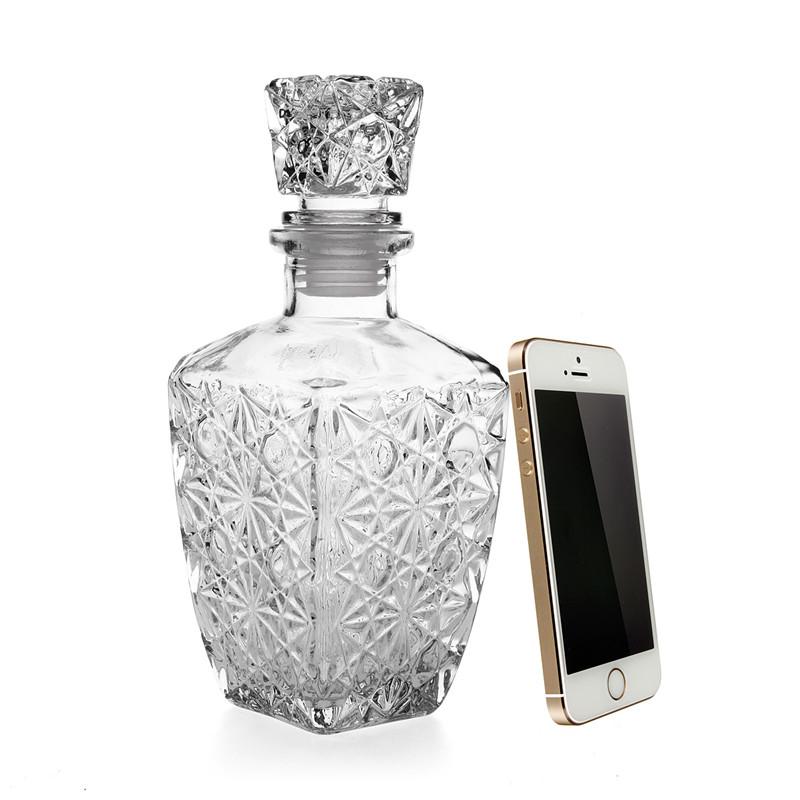 Роскошные стакан виски ликер вино пьет графин 500мл кристалл бутылка вина графин подарок