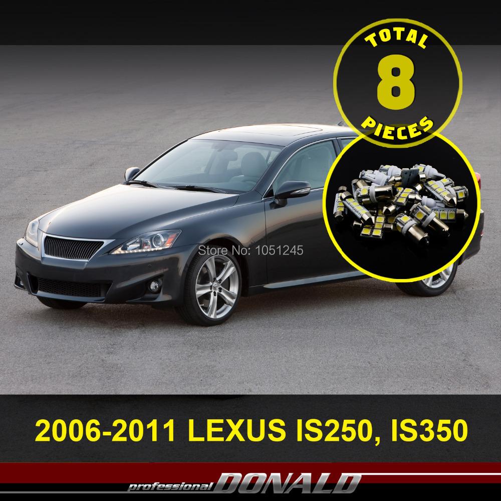 2011 Lexus Rx Interior: 6x Xenon Led Car Truck Interior Dome Map Light Kit For