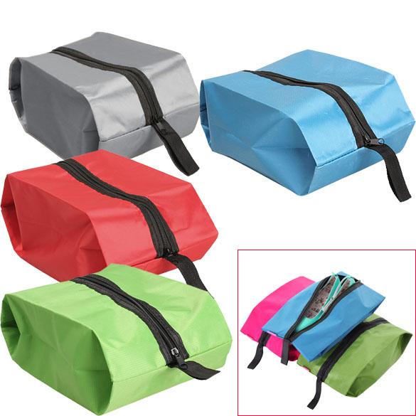 Nylon Oxford Waterproof Shoes Bag Travel Storage Tote Dustproof Organizer E2shopping(China (Mainland))