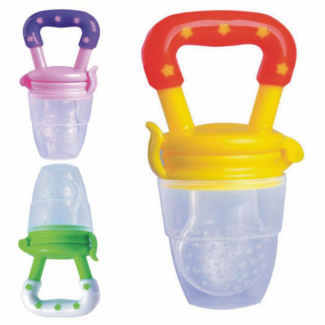 Baby Infant Food Nipple Feeder Silicone