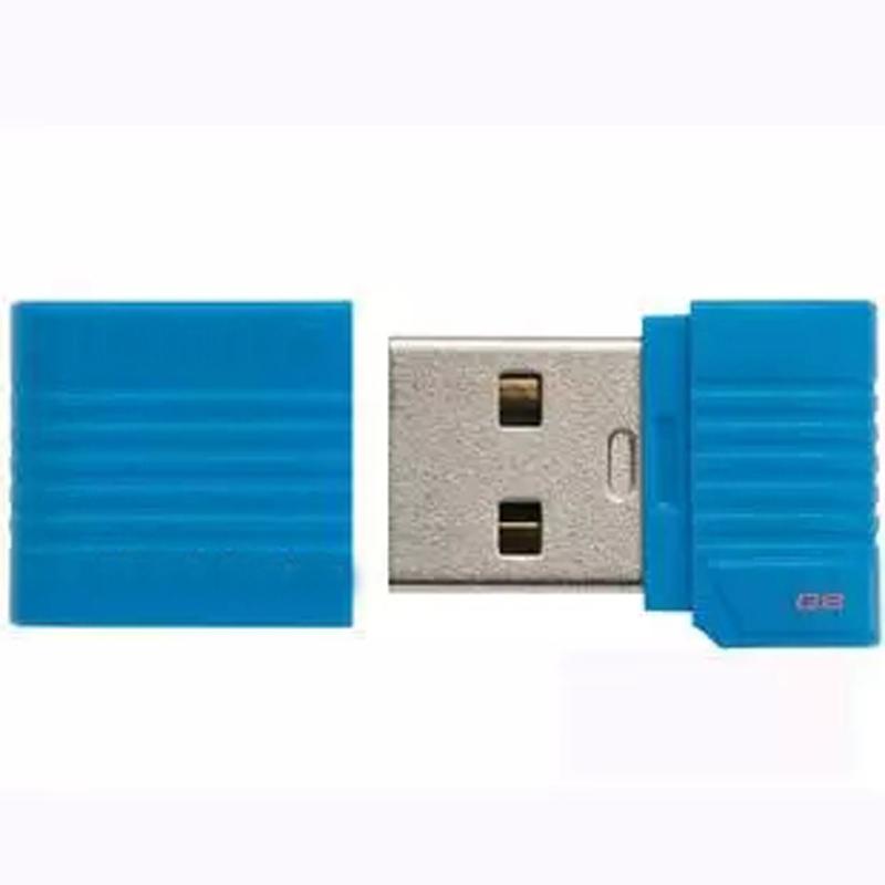 New Gift Real size Super mini USB Flash Drive 64GB 32GB mini usb stick 16GB 8GB Pen drive tiny thumbdrives flash card blue/black(China (Mainland))