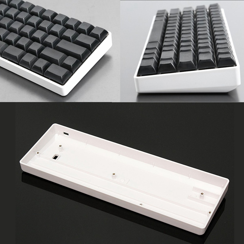 60% Mechanical Gaming Keyboard Plastic Protective Case Mini Keyboard Base Seat Frame For GH60 For POKER2 For FACEU(China (Mainland))