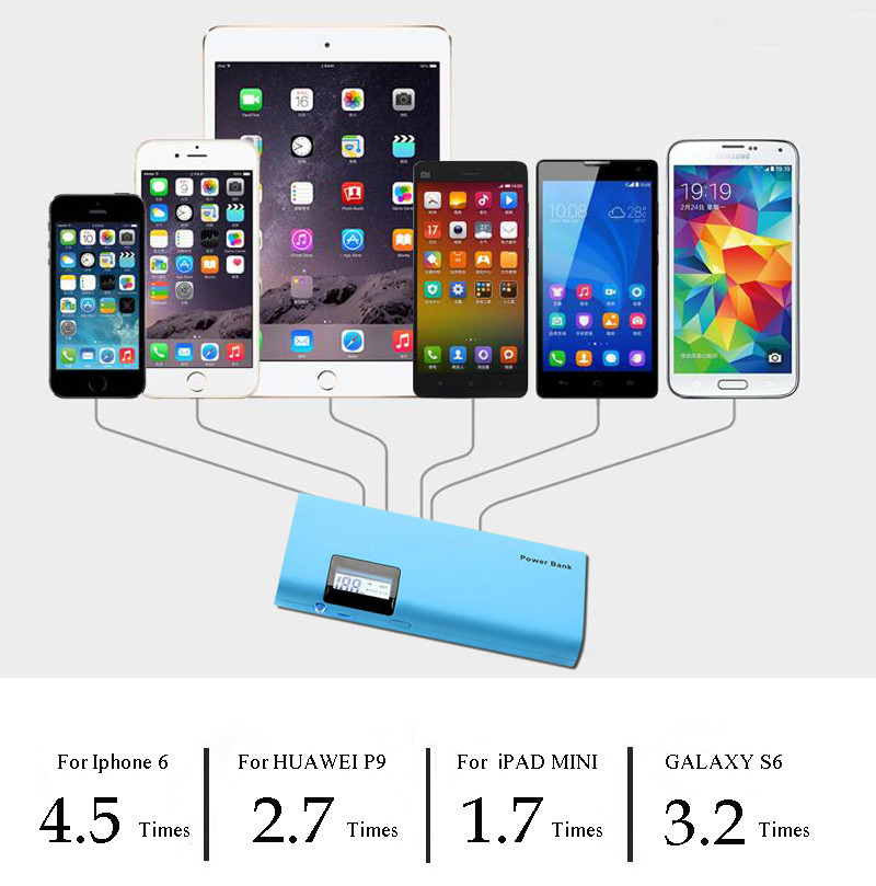 Tropweiling powerbank 18650 mobile power bank 15000mah poverbank diy power bank for All phones