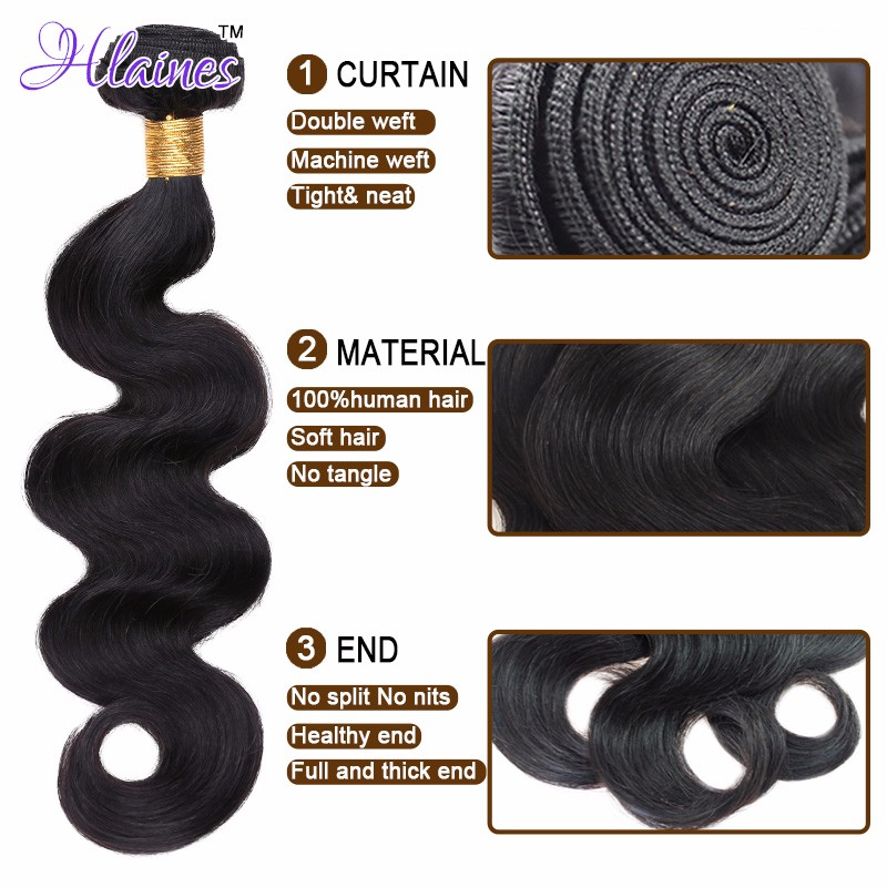 7A Malaysian Body Wave Human Hair Weave 3 Bundles Deal Unprocessed Malaysian Virgin Hair Body Wave rosa Hair Company product