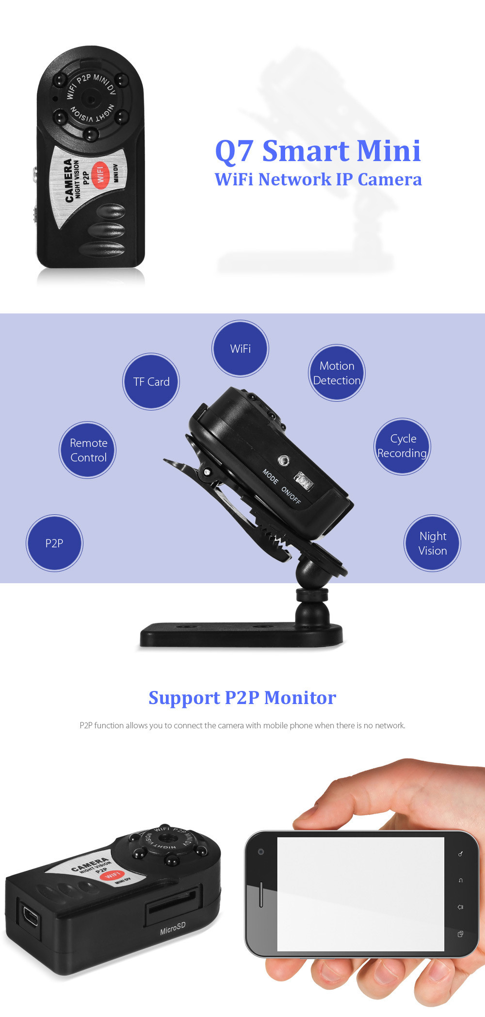 smallest pocket micro camera Full-HD innovage mini wifi camera Espia Camcorder Recorder Infrared Night Vision