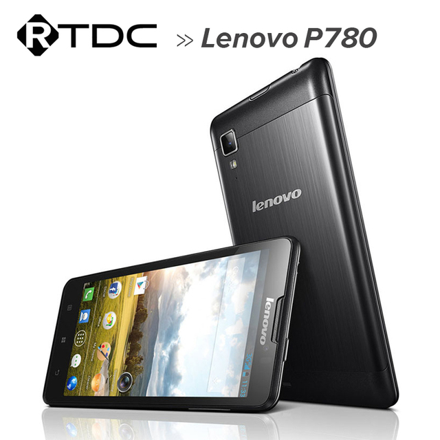 In Stock! 4000mAh lenovo p780 MTK6589 quad core Phone 5.0 inch HD IPS Screen 8MP Camera Android Free Gifts Case Screen Protector