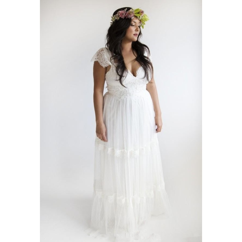 Beach wedding dresses for plus size wedding dresses plus for Beach plus size wedding dresses