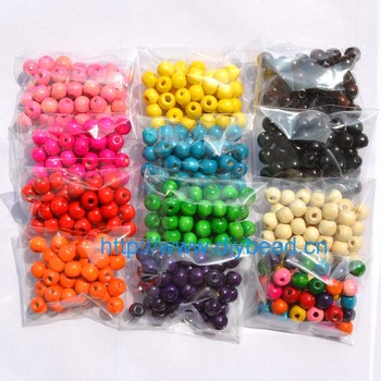 100pcs/lot  DIY fashion jewerly accessory,10MM wood beads,round bead,bracelet accessory,12 colors