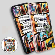 Buy rockstar gta 5 Phone Ring Holder Soft TPU Silicon Case Cover iPhone 4 4S 5C 5 SE 5S 6 6S 7 Plus for $2.99 in AliExpress store