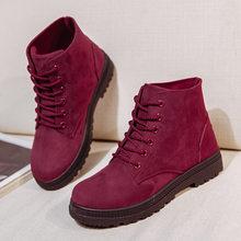 KARINLUNA Yeni Varış Sıcak Kar Botları 2019 Topuklu Kış Çizmeler Kadın Ayak Bileği çizmeler kadın ayakkabıları Sıcak Kürk Peluş Astarı Ayakkabı Kadın(China)