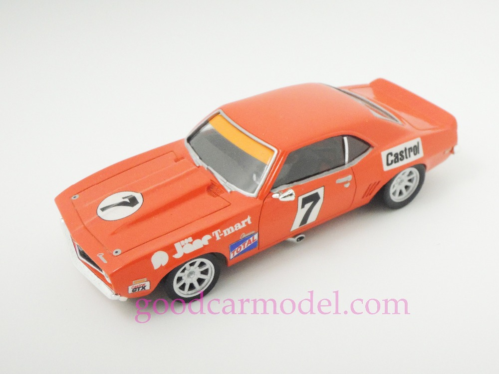 New ACE 1:43 Car Model 1970 Chevrolet Camaro Australian Racing Marques Championship Winners Free Shipping From HK(China (Mainland))