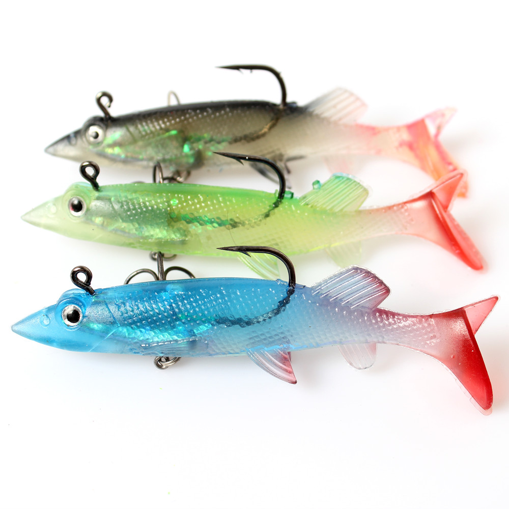 Online buy wholesale swimming jig heads from china for Jig fishing for trout