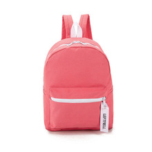 Buy Fashion Solid Color Canvas Women Bag Backpack School bag Teenagers Ladies Girl Back Pack Schoolbag Bagpack Mochila for $24.55 in AliExpress store