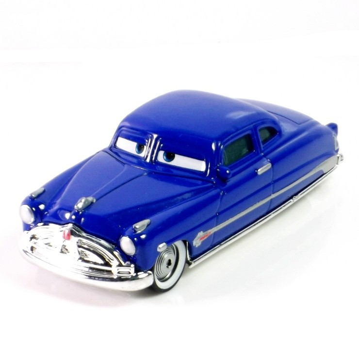 Pixar Cars 2 100% original Doc Hudson 1:55 scale die-cast metal alloy model cute toy for kids gifts free shipping(China (Mainland))