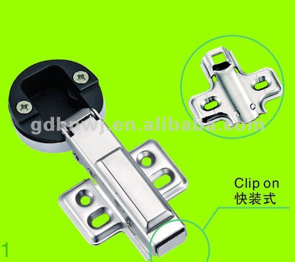 over 20years factory soft closing hydraulic glass door full-overlay clip on hinge(China (Mainland))