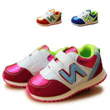 Spring&Autumn 1 pair  fashion Sports Brand Children Sneakers KIDS casual Shoes, Cheap baby Boy/Girl Loafers, single shoes(China (Mainland))