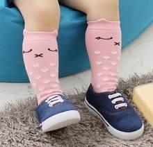 Calcetines Unisex de Navidad para bebé, calcetines para el suelo, calcetines suaves antideslizantes con estampado de gato, calcetines de invierno para bebé(China)