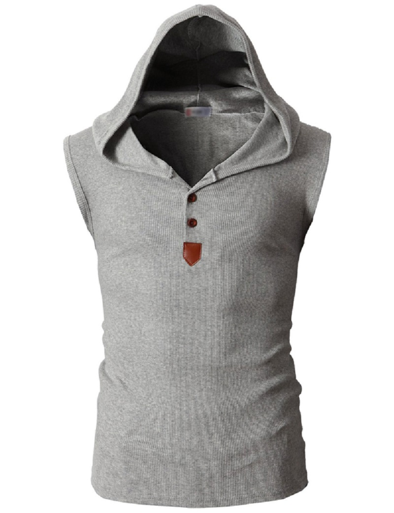 Mens t shirts fashion 2016 summer new style solid color short sleeve hooded shirt casual tops tshirt men - Fashion Johenson store