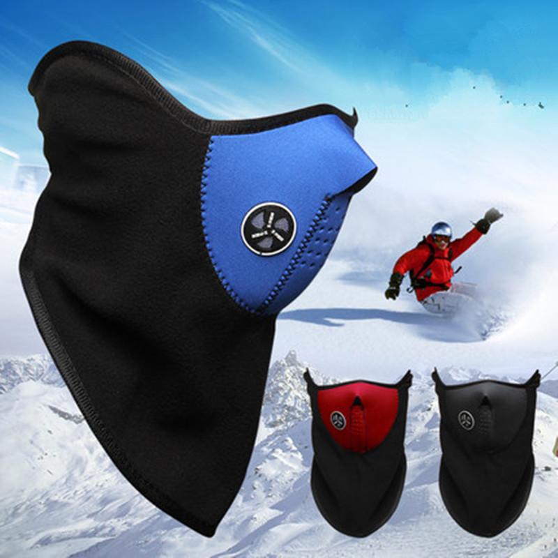 Thermal Neck Warmers Fleece Balaclavas CS Hat Headgear Winter Ski Masks Ear Windproof Warm Face Mask Motorcycle Bicycle Scarf