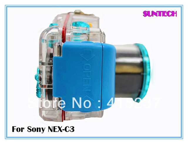 Free shipping Universal waterproof case 40M underwater camera covers for sony NEX-C3