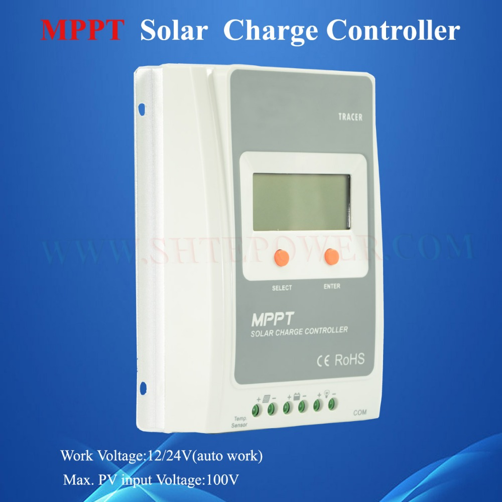 Maximum power point tracking auto work 12v 24v 10a mppt solar charge controller(China (Mainland))