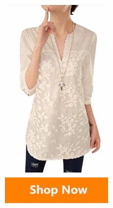 HTB1cschSXXXXXXSXVXXq6xXFXXXk - Floral Print Chiffon Blouse Collar Short Sleeve Women