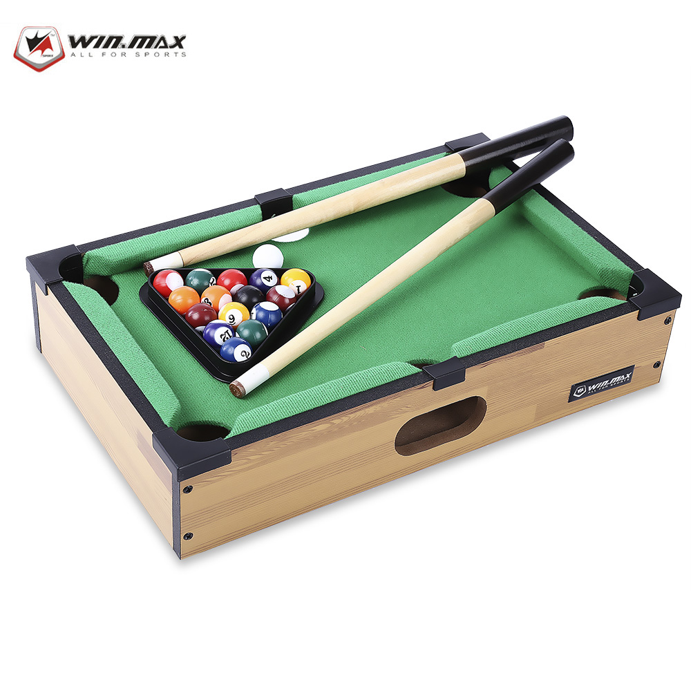 WIN MAX Funny Mini Size Table Billiards Competition Triumph Game Accessory Indoor Sports For Childrens(China (Mainland))
