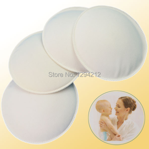 100% cotton anti-overflow breast pad Nursing Pads Super Absorbency 4 pieces in one package TaU(China (Mainland))