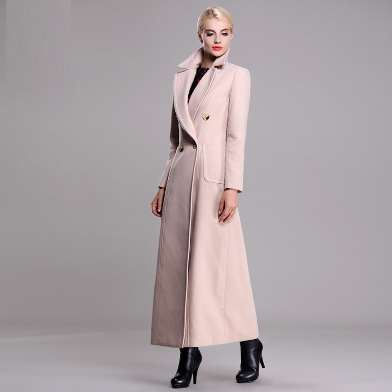 Ladies Long Length Winter Coats - JacketIn